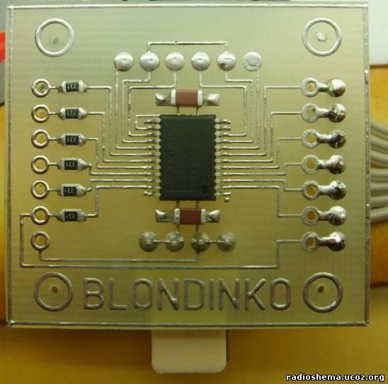 взята из даташита на микросхему TDA2003