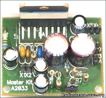 УНЧ выполнен на интегральной микросхеме TDA7294.  Эта ИМС представляет...