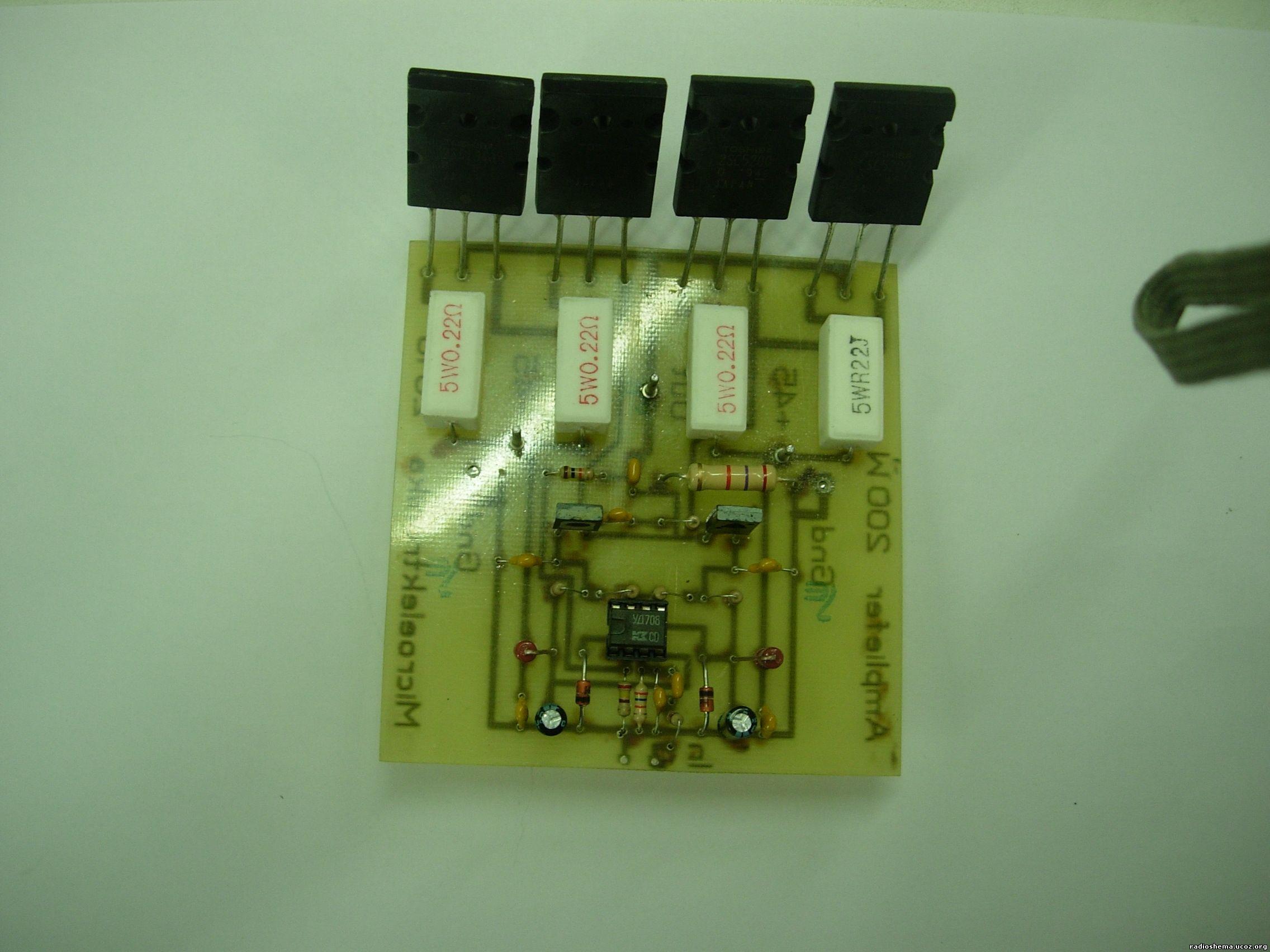 транзисторы для унч - Схемы.