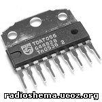 ИМС Усилитель низкой частоты NXP TDA7056, Усилители низкой частоты.