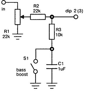 Boost bass схема